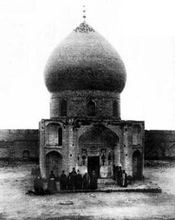 هیئت عاشورا -قدیمی ترین عکس از بارگاه امام حسین(ع)